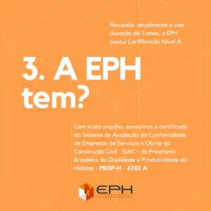 PBQP-H da EPH Incorporadora
